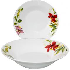 533-19 Суповая тарелка 8' Садовые <a href='http://snt.od.ua/ru/poisk.html?q=цветы' />цветы</a>