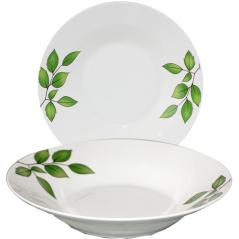 533-20 Суповая тарелка 8' Береза