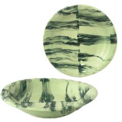 50181 Тарелка радуга зеленая 18см