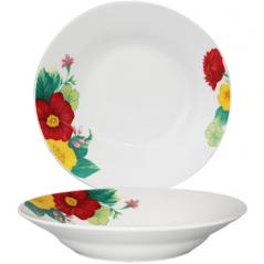 3082-202 Тарелка суповая 8' <a href='http://snt.od.ua/ru/poisk.html?q=Цветы' />Цветы</a>