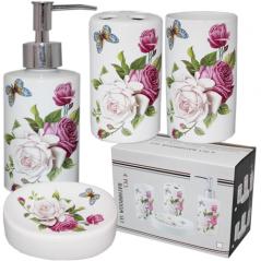 888-125 Набор аксессуаров для ванной комнаты 'Романтика'