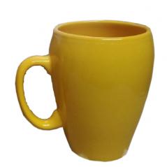 040-01-52 Чашка конус 280мл Желтая