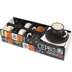 1458 Сервиз кофейный 12пр - А