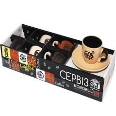 1458 Сервиз кофейный 12пр - B