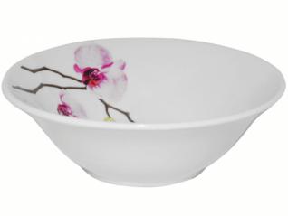 3079 Салатник 8' 154 Розовая орхидея (1)