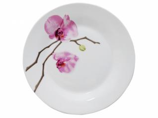 3081 Тарелка 9' 154 Розовая орхидея (1)