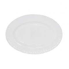 30066-00 Блюдо овальное белое 10'  D1