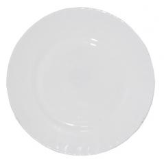 30057-02-00 Тарелка белая 8'  D1