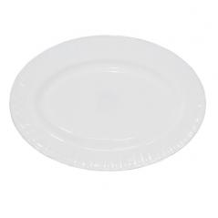 30062-00 Блюдо овальное белое 12' D1