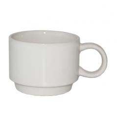 040-01-46 Чашка цилиндр 220мл белая