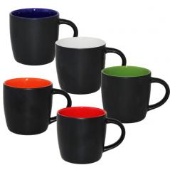 040-01-57 Чашка цилиндр 330мл Черная