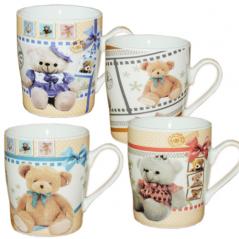 040-01-02 Чашка 250мл Медвежонок