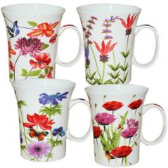 040-01-04 Чашка 360мл Полевые цветы