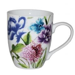 040-01-58 Чашка 340мл Весенние <a href='http://snt.od.ua/ru/poisk.html?q=цветы' />цветы</a>