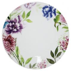 050-14-09 Тарелка 10,5' Весенние  цветы