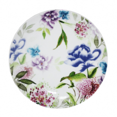050-14-02 Тарелка 8' Весенние  <a href='http://snt.od.ua/ru/poisk.html?q=цветы' />цветы</a>