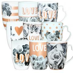 040-01-72 Чашка 'Love микс' 340мл