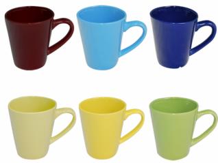 4165 Чашка 6 цветов микс 300 мл (36)