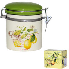 630-7 Ёмкость для сыпучих продуктов, 0,5л. '<a href='http://snt.od.ua/ru/poisk.html?q=Лимон' />Лимон</a>' (h-10 см, d-10 см)