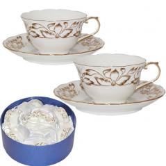 170 Сервиз чайный 12 предм. (чашка- 220мл, блюдце-14см) Невеста