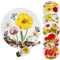 3085-03 Набор для торта 2пр. '<a href='http://snt.od.ua/ru/poisk.html?q=Цветы' />Цветы</a>' микс2