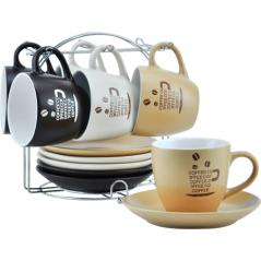 021-12-07 Сервиз чайный 12 пр. на стойке (чашка-240мл, блюдце-15,5см)