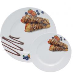 30834-03 Набор для блинов 7пр. Шоколад (27см, 20см)