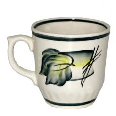 50203 Чашка Сумы рисунок осень зеленая 350мл