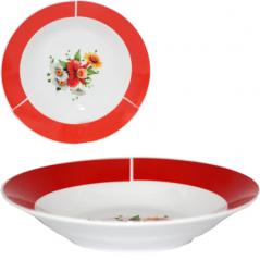 30003-1482 Тарелка 8' суп Полевые цветы