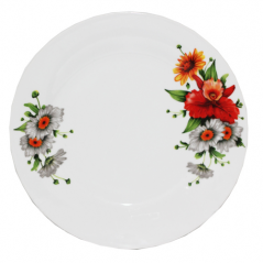 30001-1482 Тарелка 8' Полевые цветы
