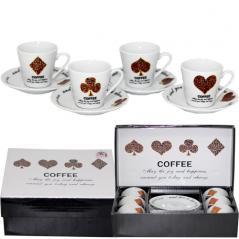 024-12-14 Сервиз эспрессо 12пр 'Кофейная карта' (чашка-90мл, блюдце-11см)