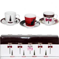 022-12-15 Сервиз кофейный 12пр '<a href='http://snt.od.ua/ru/poisk.html?q=Кофе' />Кофе</a> модерн' (чашка-150мл, блюдце-13см)