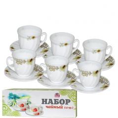 558-19 Набор чайный 12пр.(190мл) <a href='http://snt.od.ua/ru/poisk.html?q=Лилия' />Лилия</a>