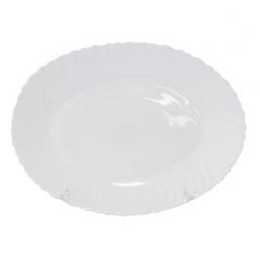 30062-00 Блюдо овальное 12' белое D2