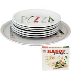 30839-03-02 Набор для пиццы 7пр. Пицца (30см, 20см)