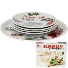 30839-02-01 Набор для пиццы 5пр. Оливки (30см, 20см)