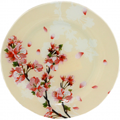 309 Блюдо круглое 10-25см (Цветущая Вишня)