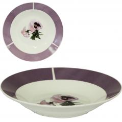 30003-1484 Тарелка 8' суп Фиалки