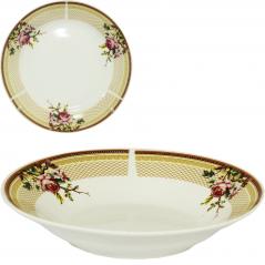 30003-1485 Тарелка 8' суп Бутоны розы
