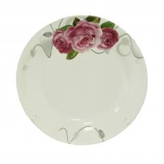 30000-1487 Тарелка 7' Розы