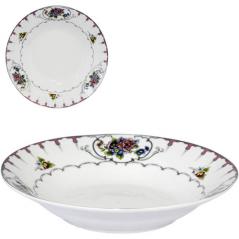 30003-1486 Тарелка 8' суп Цветы