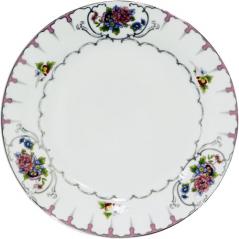 30002-1486 Тарелка 9' Цветы