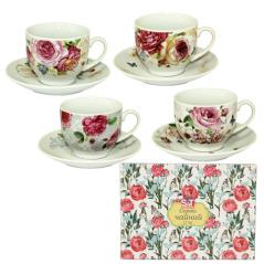 1463-5 Сервиз чайный 12эл. (чашка-220мл, блюдце-14см)