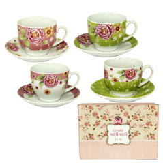 1463-6 Сервиз чайный 12эл. (чашка-220мл, блюдце-14см)