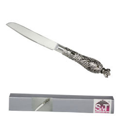 37232 Нож для торта (29,5*3,5*3,5см) Виноград