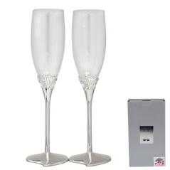 7047-10 Set of glasses for champagne Love 220ml 2pcs