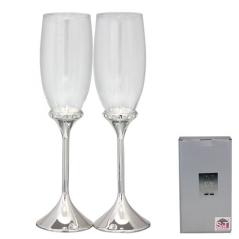 7047-16 Набор бокалов для шампанского Карат 2шт 220мл