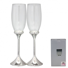 7047-16 Set of glasses for champagne Karat 220ml 2pcs