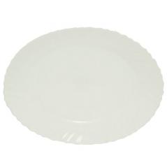 40010-05-14 Блюдо овал 14' Белое A2