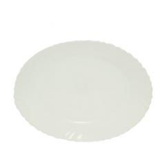 40010-05-10 Блюдо овал 10' Белое A2